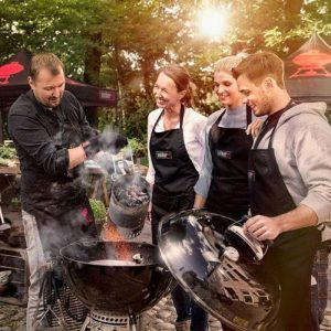 2018 BBQ Course certified by Weber