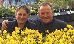 Tim Godwin and Jayne Homer, fosseway Garden Centre
