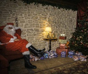 Santa's Grotto, Winter wonderland, Present, Christmas