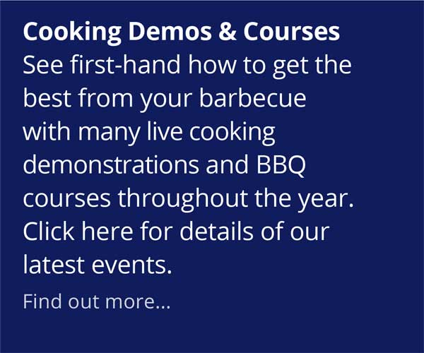 Weber World Cooking Demos and Courses