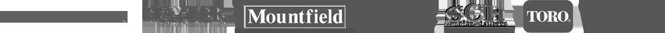 Garden machinery brands: Countex, Hayter, Mountfield, STIHL, SCH, Toro and Viking