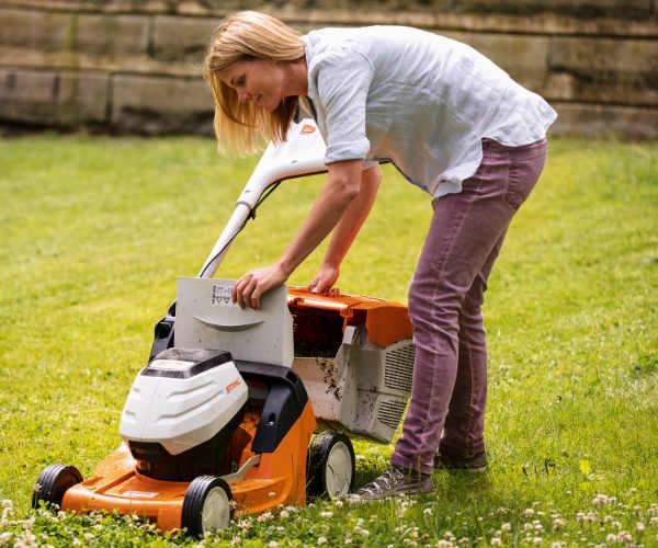STIHL Pedestrian Lawn Mower