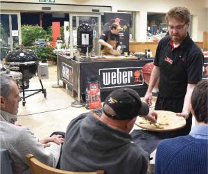 Certified by Weber Cookery Demonstration at Fosseway Garden Centre