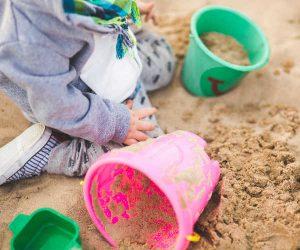 Sand Pit at Fosseway Fun Farm