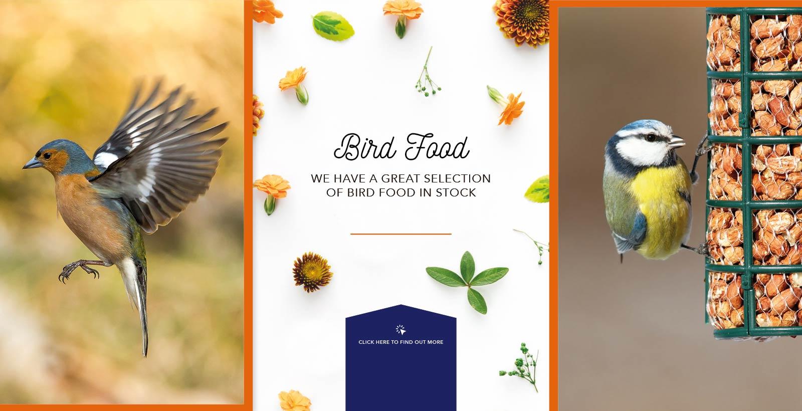Bird Food at Fosseway Garden Centre