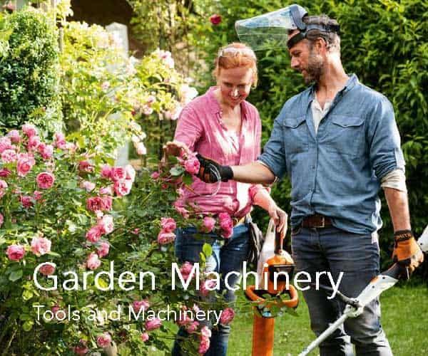Garden Machinery at Fosseway Garden Centre