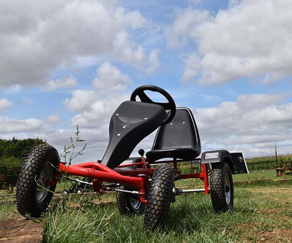 Pedal Go Kart at Fosseway Fun Farm