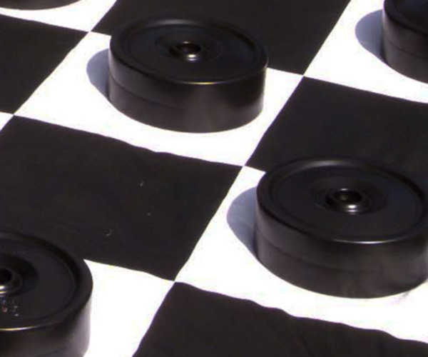 Giant Draughts at Fosseway Garden Centre