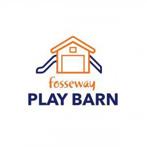 Fosseway Play Barn Vector logo